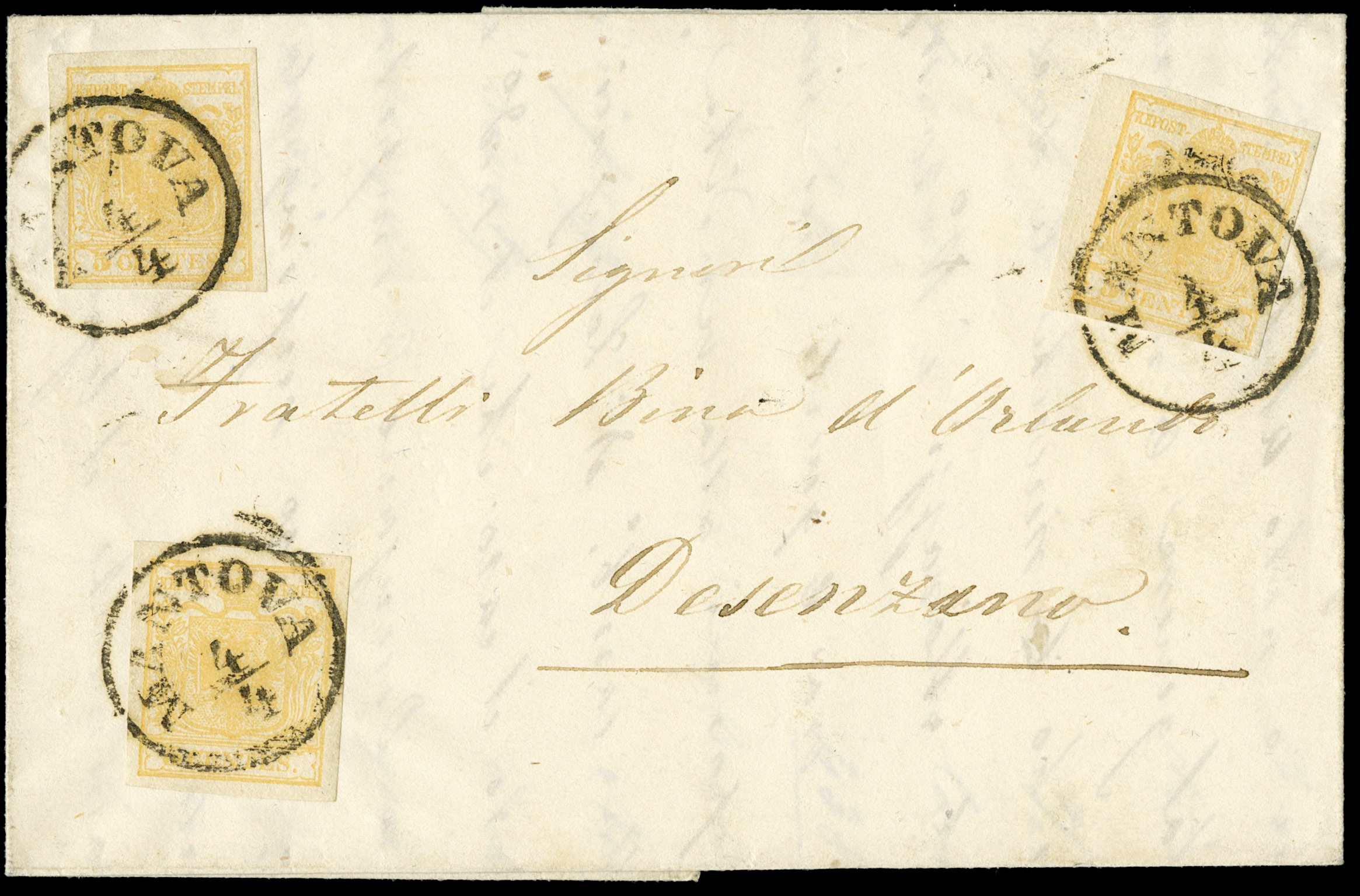Lot 5 - lombardo veneto posta ordinaria -  Zanaria Aste s.r.l. 9th Philatelic Auction