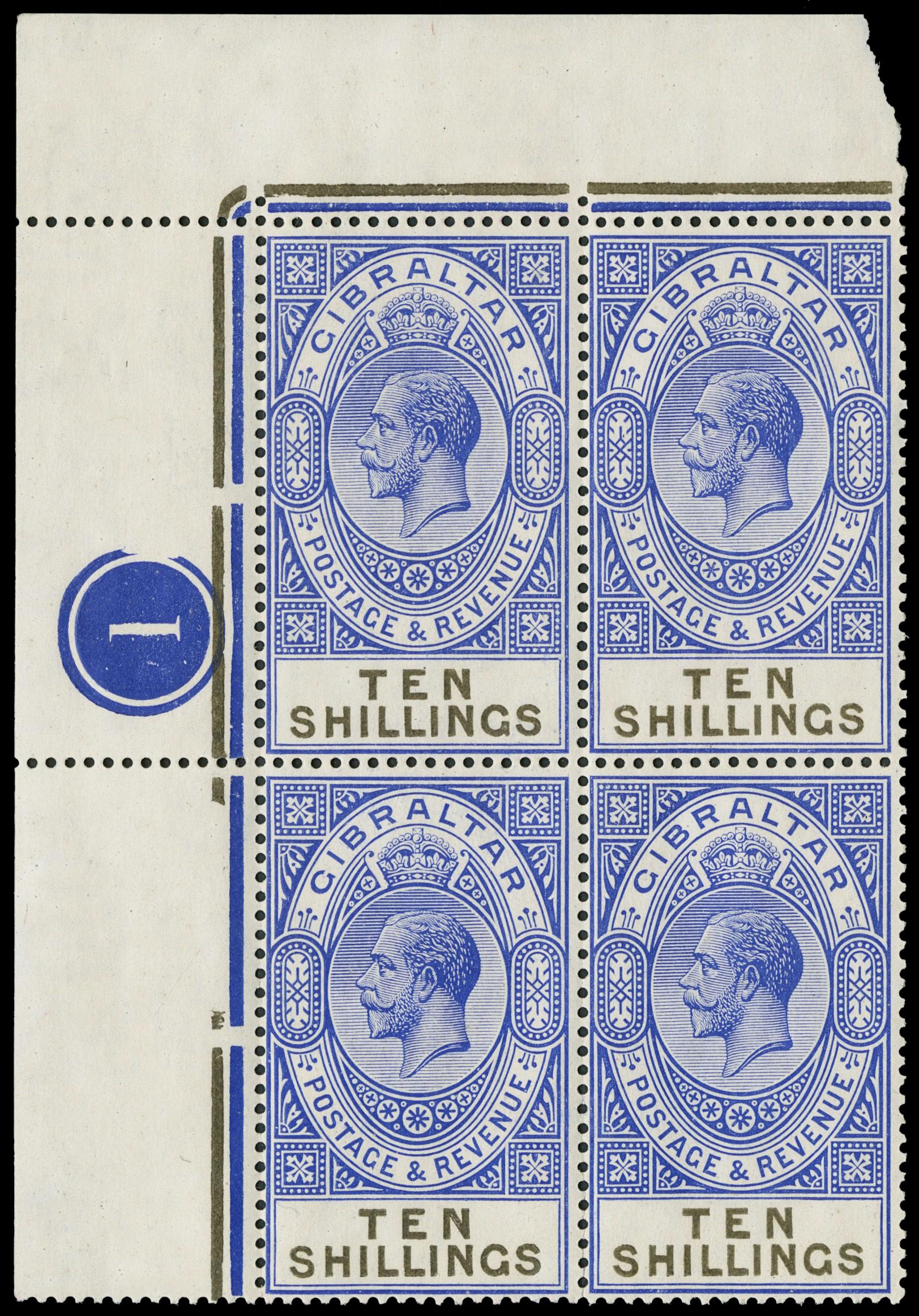 Lot 3018 - GIBILTERRA posta ordinaria -  Zanaria Aste s.r.l. 9th Philatelic Auction