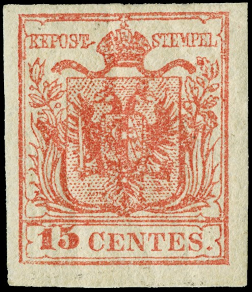 Lot 18 - lombardo veneto posta ordinaria -  Zanaria Aste s.r.l. 9th Philatelic Auction
