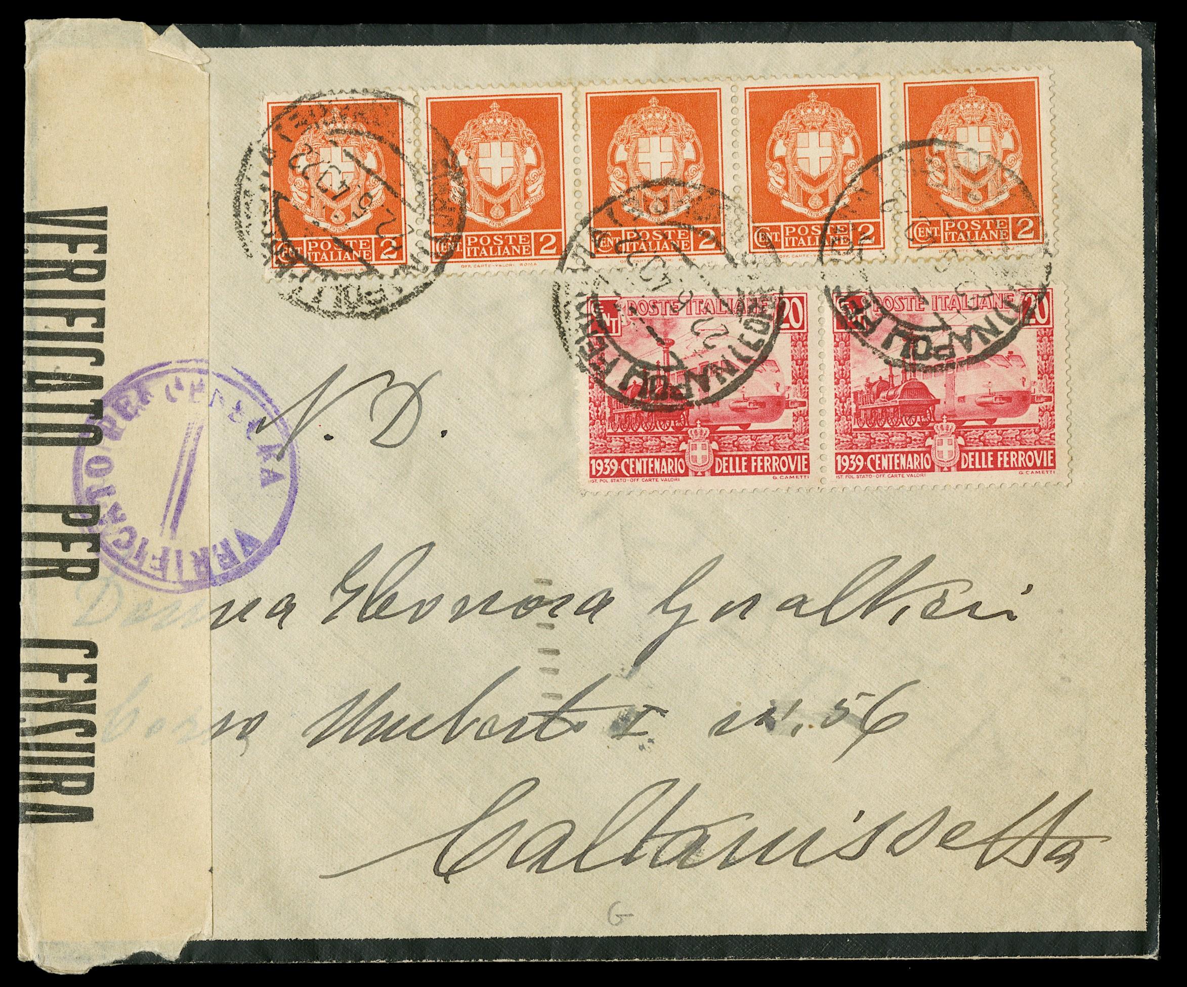 Lot 4055 - ITALIA - AREA ITALIANA lotti e collezioni -  Zanaria Aste s.r.l. 9th Philatelic Auction