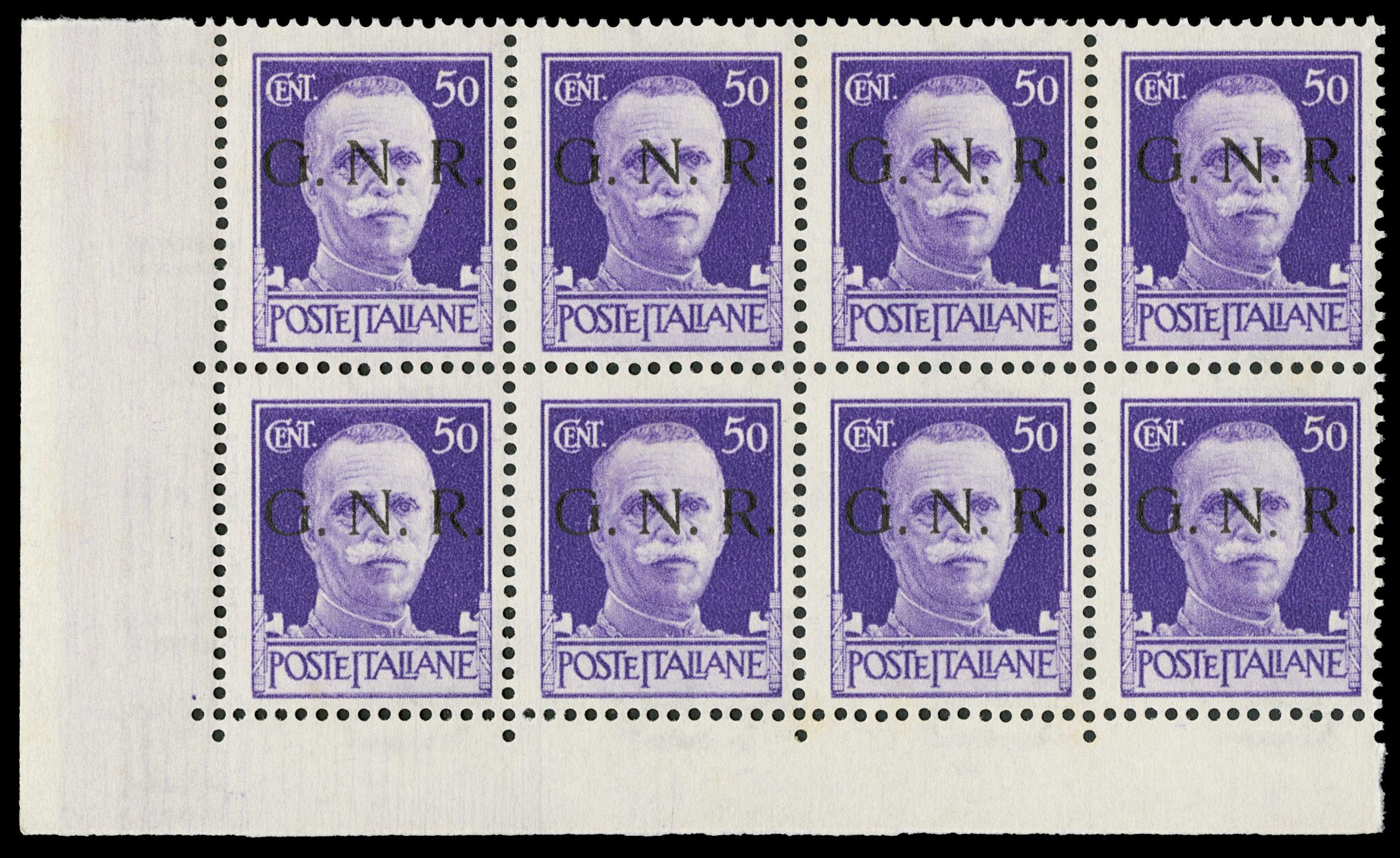 Lot 4065 - ITALIA RSI lotti e collezioni -  Zanaria Aste s.r.l. 9th Philatelic Auction