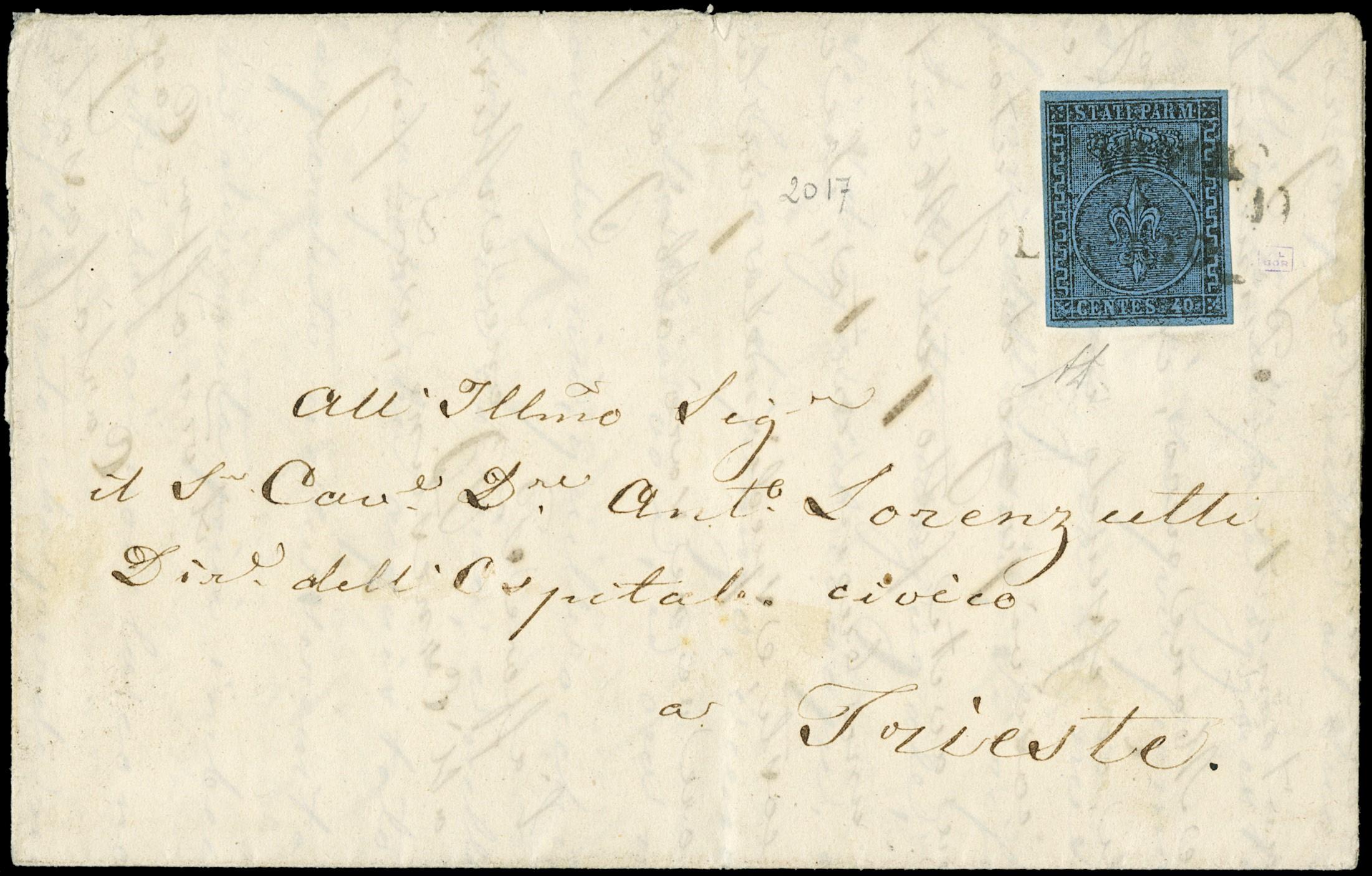 Lot 4020 - parma lotti e collezioni -  Zanaria Aste s.r.l. 9th Philatelic Auction