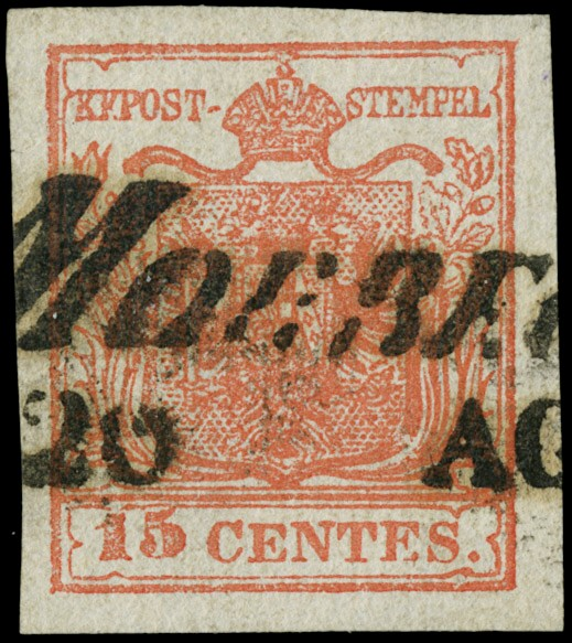 Lot 25 - lombardo veneto posta ordinaria -  Zanaria Aste s.r.l. 9th Philatelic Auction
