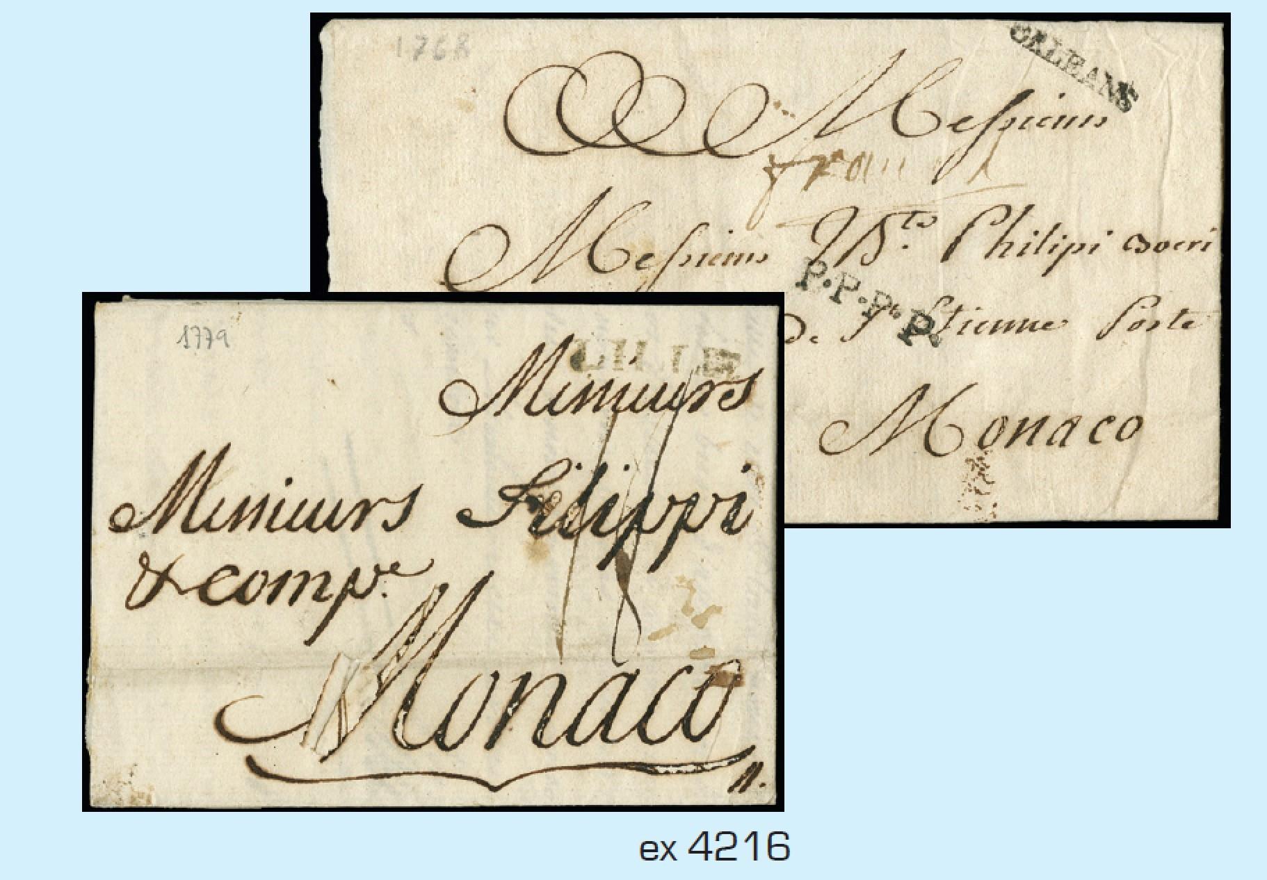 Lot 4216 - Monaco lotti e collezioni -  Zanaria Aste s.r.l. 9th Philatelic Auction