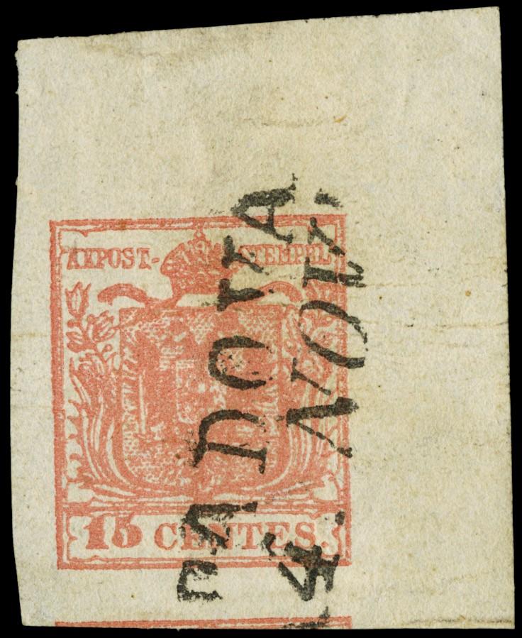 Lot 19 - lombardo veneto posta ordinaria -  Zanaria Aste s.r.l. 9th Philatelic Auction